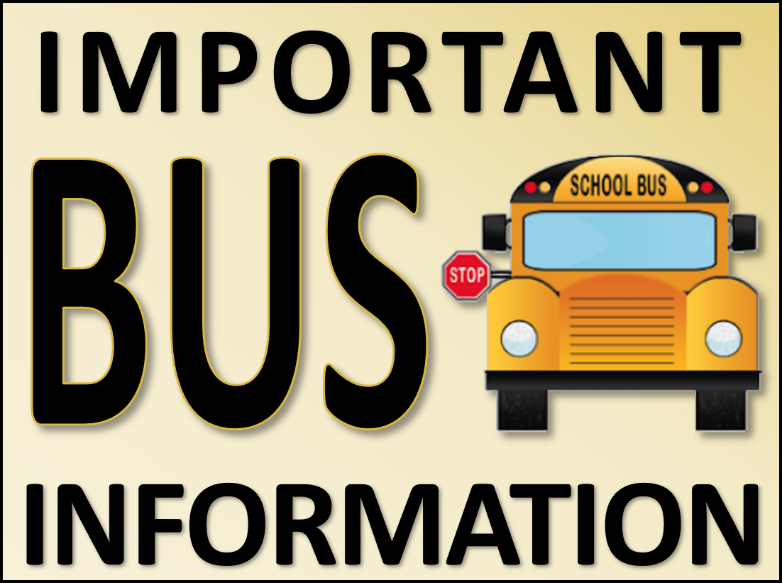 Important bus information